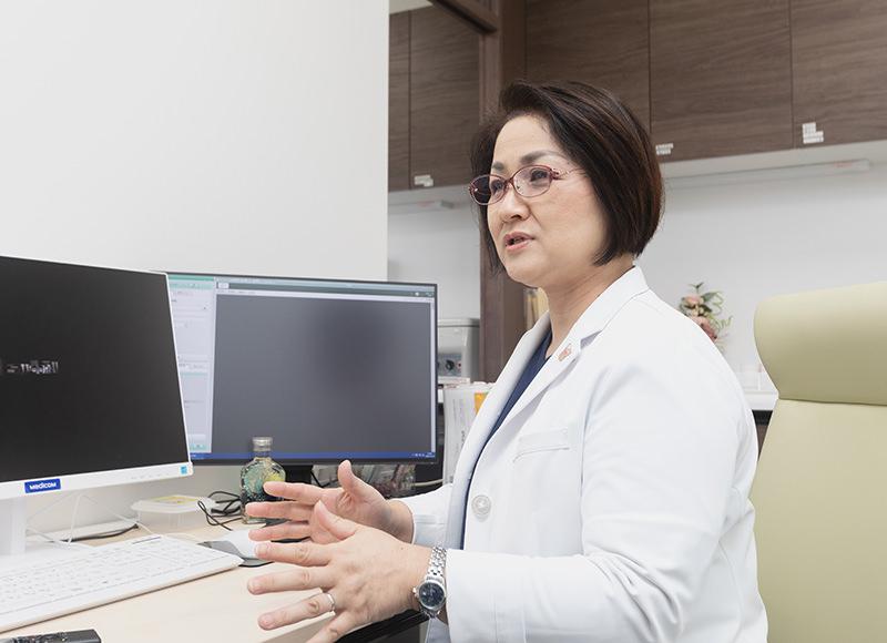 専門である内分泌・甲状腺の病気の診療で大切にしていることは?